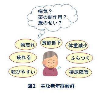 図2 主な老年症候群