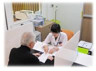 外来患者様への情報提供、外来服薬指導