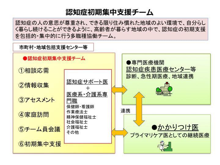 図3. 認知症初期集中支援推進事業