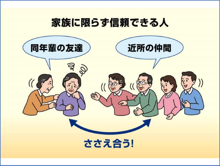 図8 信頼できる人間関係を作る